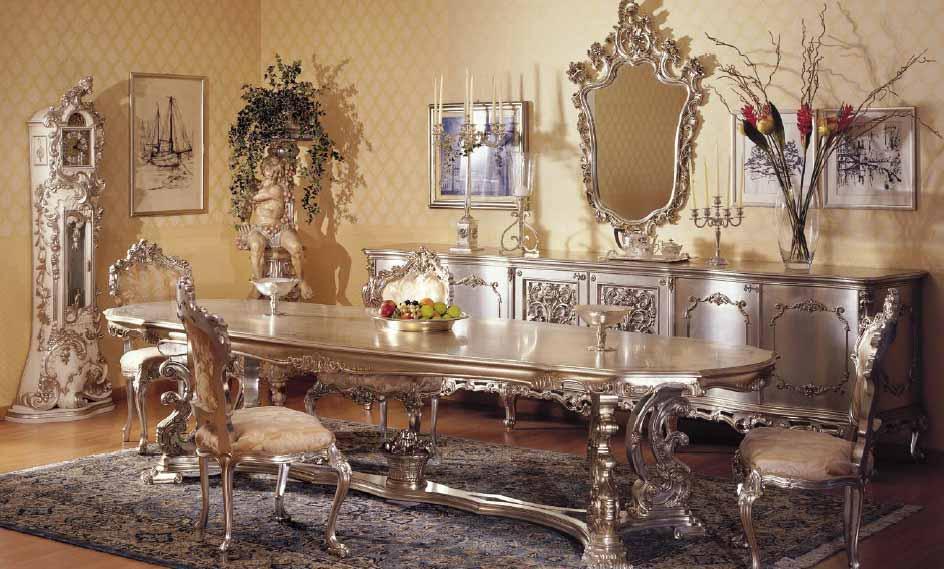 Интерьеры в стиле барокко