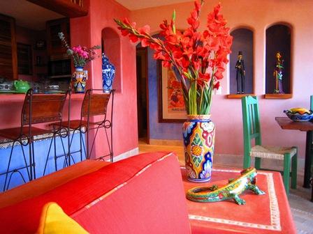 Мебель в мексиканском дизайне.